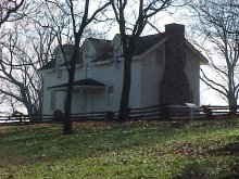 Borden House on the Prairie Grove Battlefield AR Prairie Grove.jpg