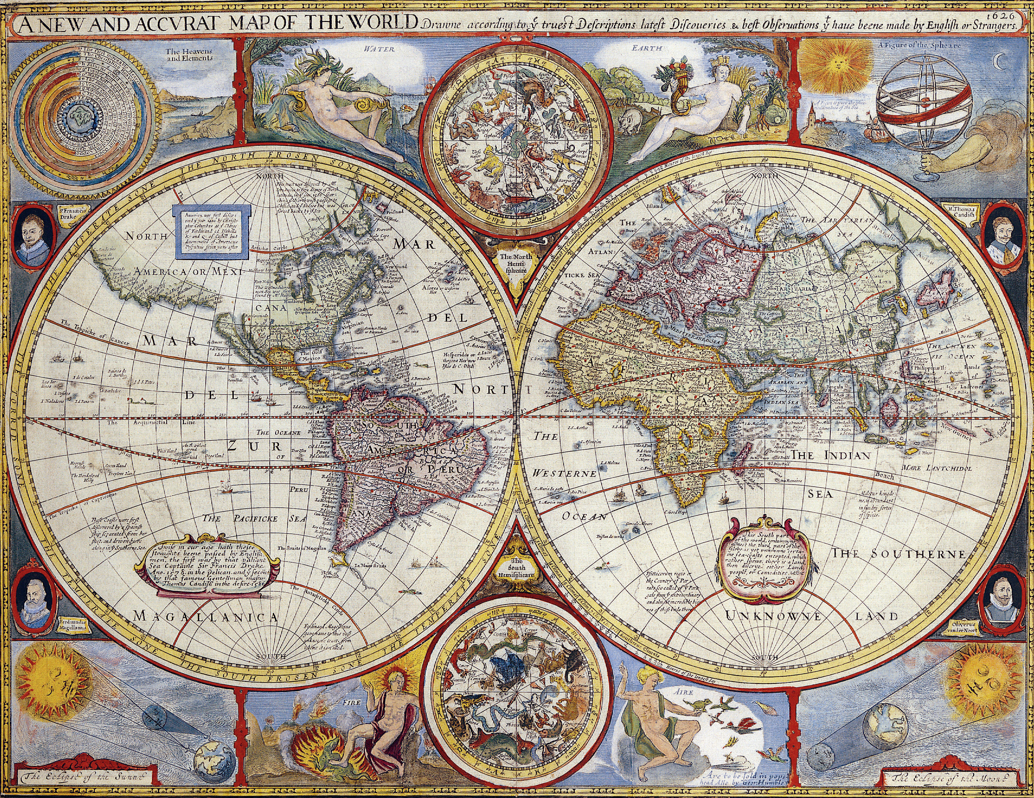 The New Map Of The World.File A New And Accvrat Map Of The World Png Wikimedia Commons