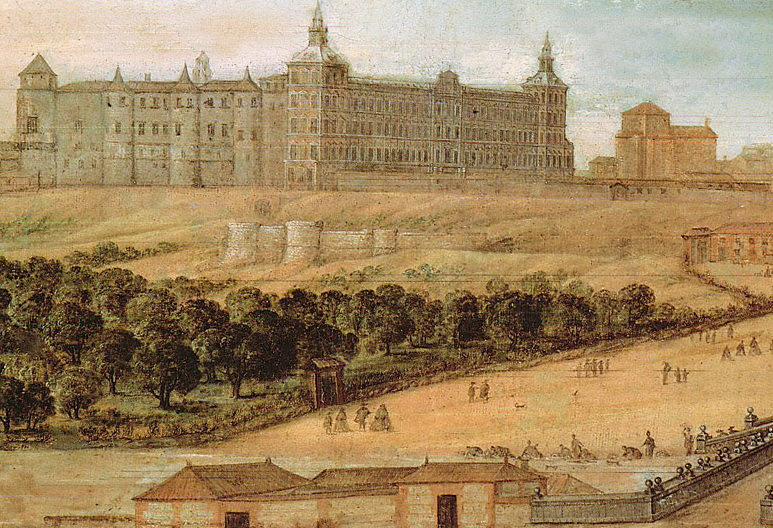 REAL ALCÁZAR DE MADRID, SIGLO XVII