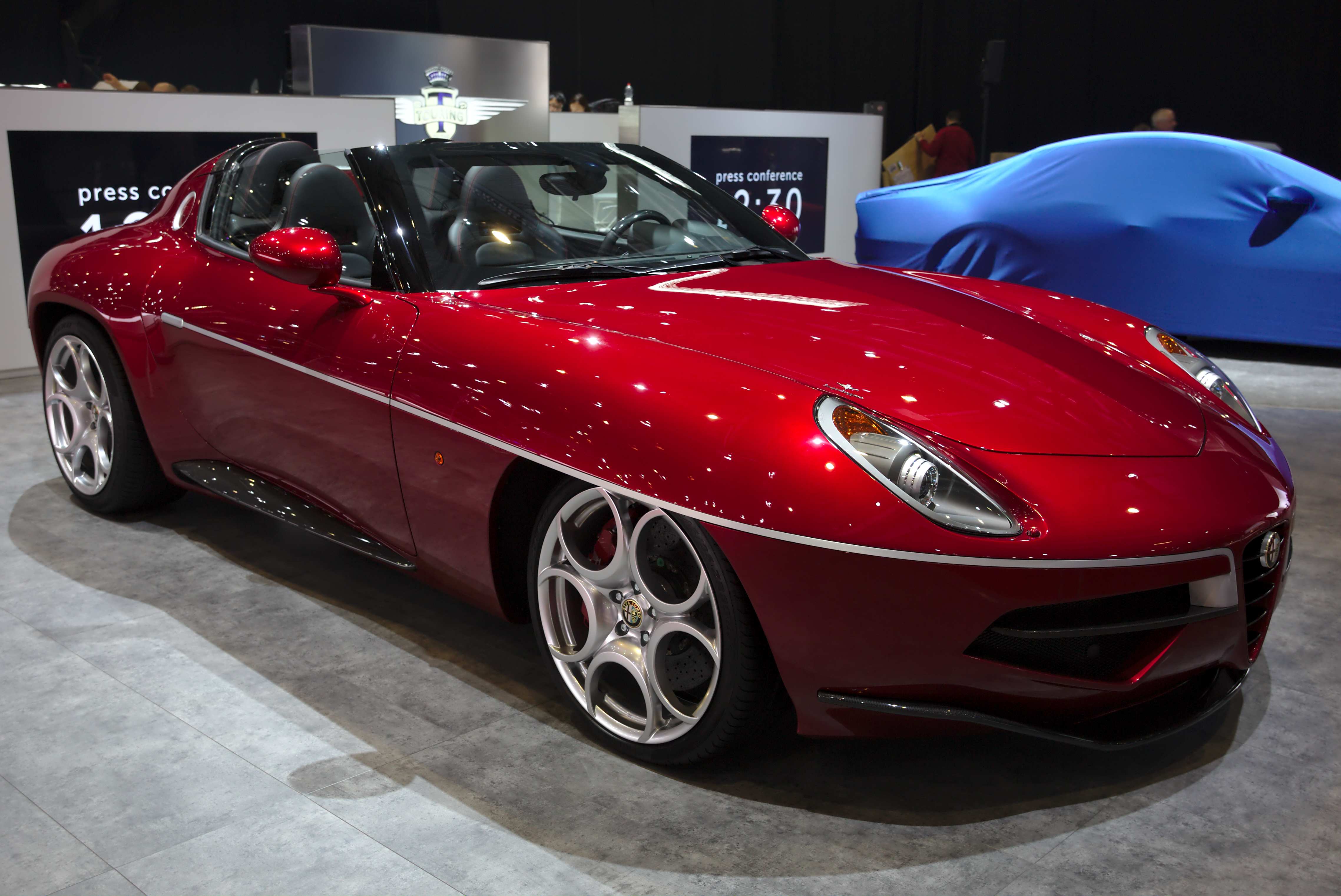 File Alfa Romeo Disco Volante By Touring Genf 2018 Jpg Wikimedia Commons