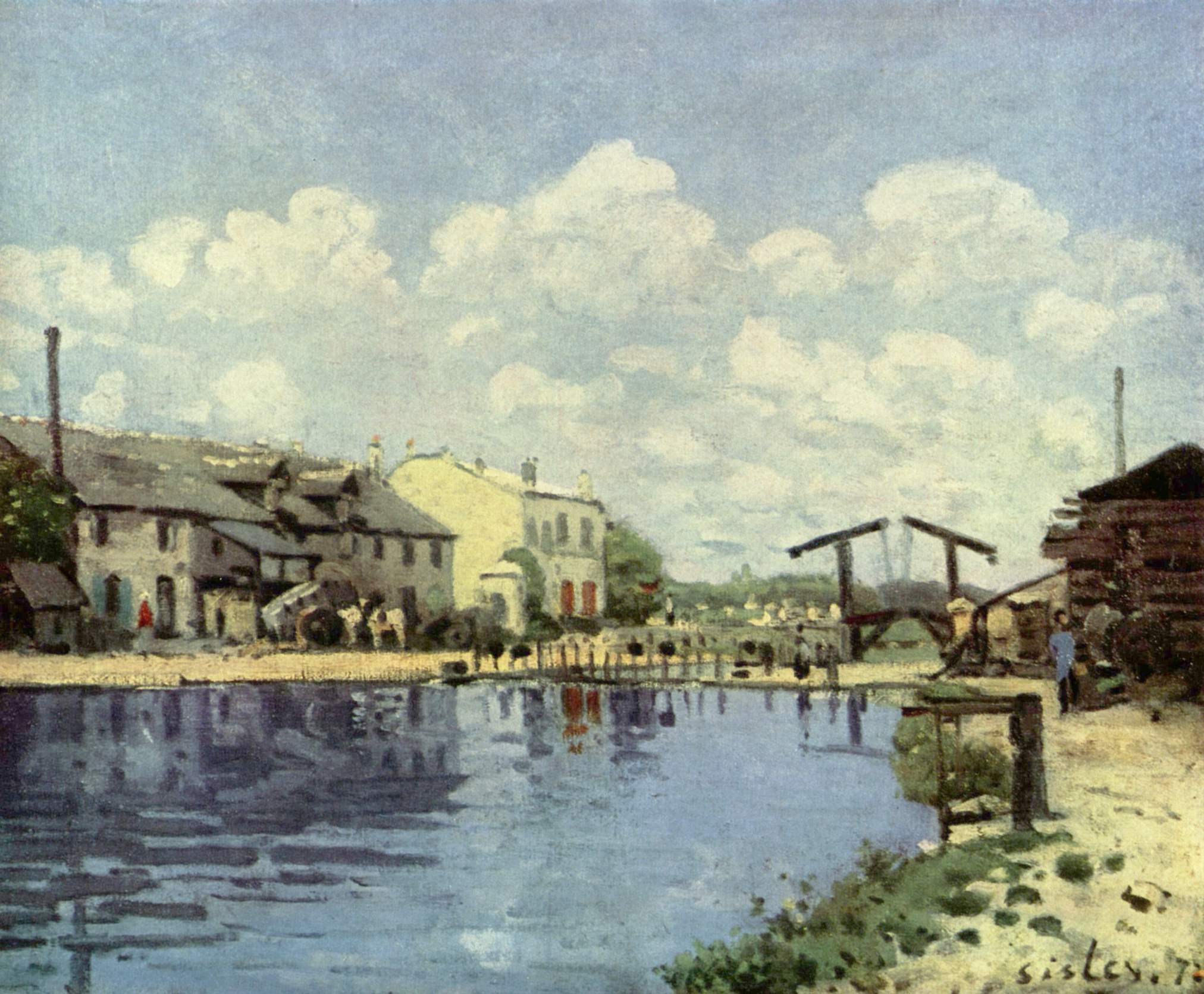 File alfred sisley wikimedia commons - Point p port marly ...