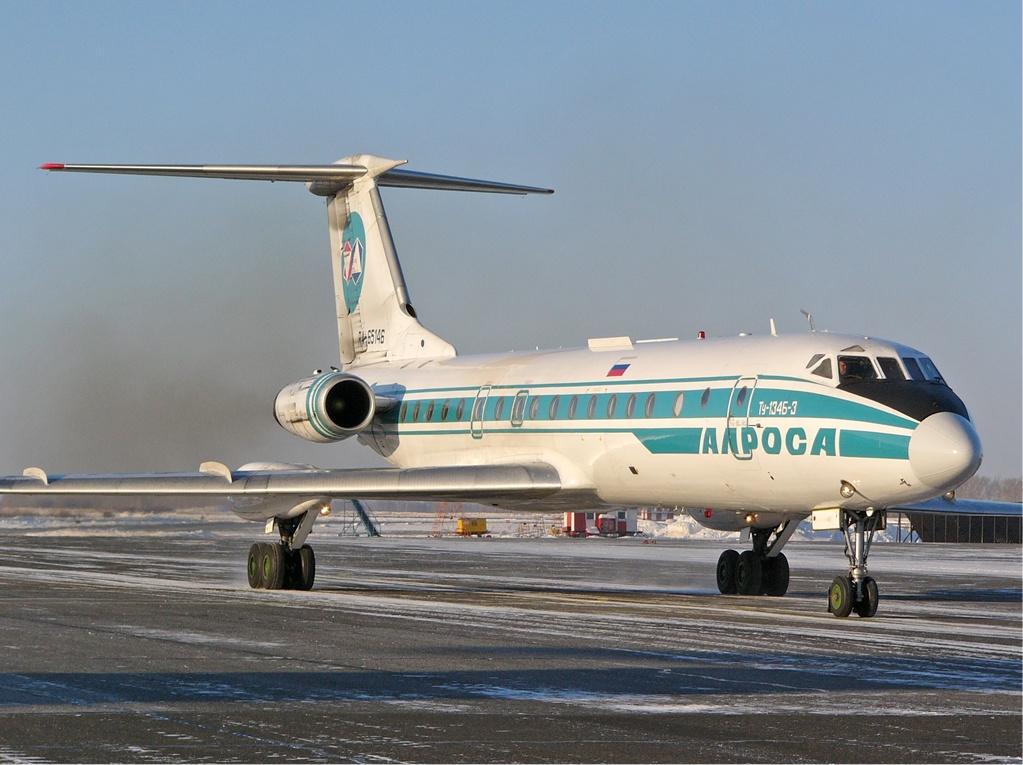 Resultado de imagen para Tupolev Tu-134 Alrosa
