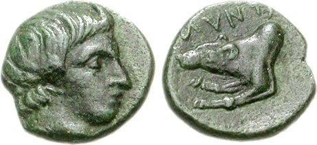Amyntas II, Bronze, c.395-393 BC, HGC 3-I-820