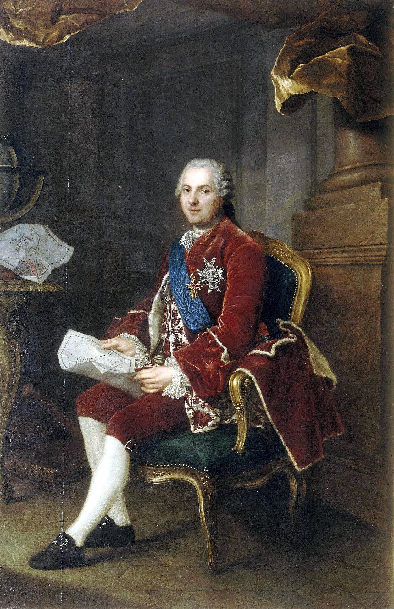Anne-Baptiste Nivelon, Louis de France, dauphin (1764).jpg