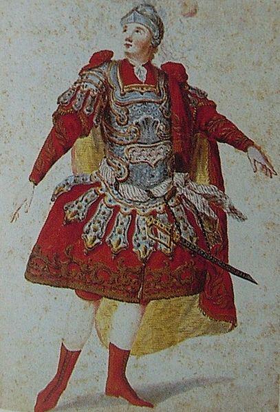 Anton Raaff com a Idomeneo