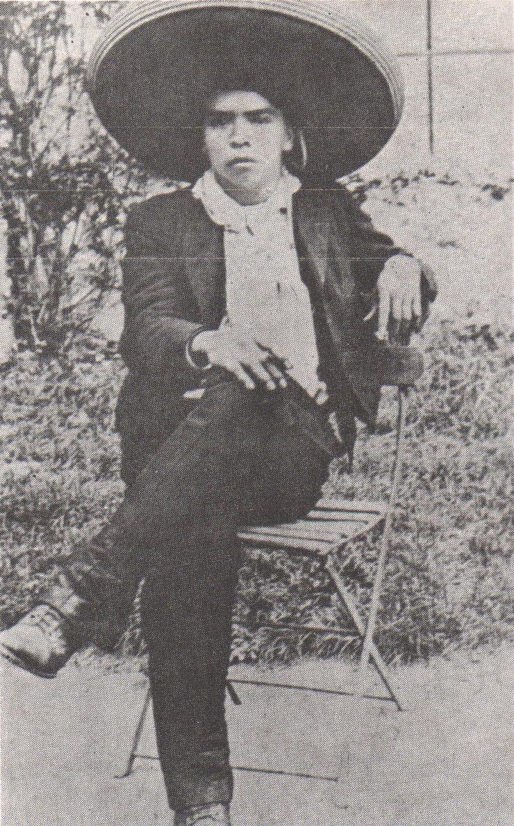 Depiction of Antonio Barona Rojas