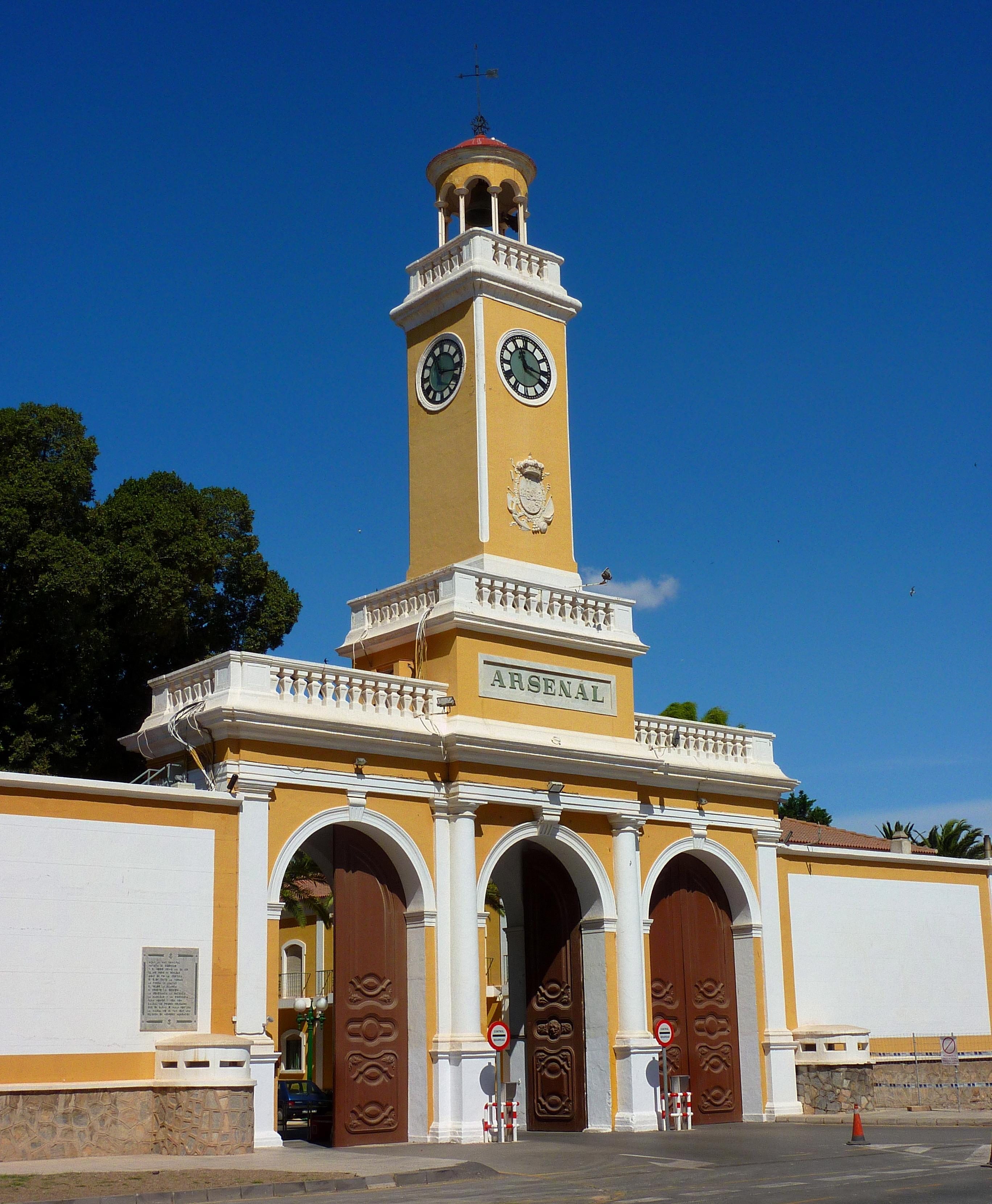 Arsenal de Cartagena - Wikipedia, la enciclopedia libre