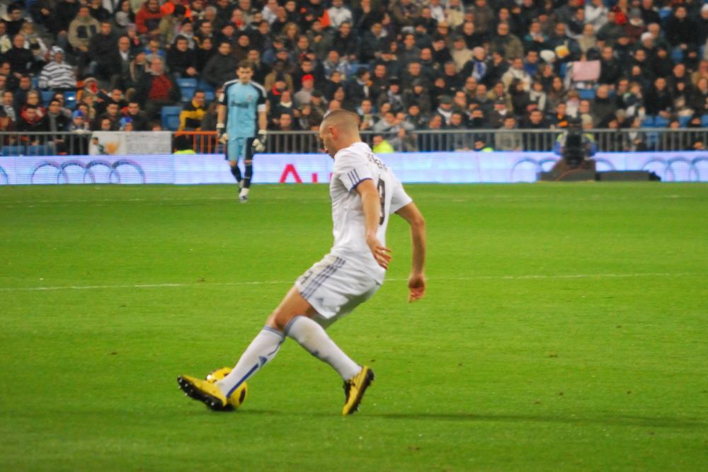 Benzema Real Madrid 1 - Sevilla 0