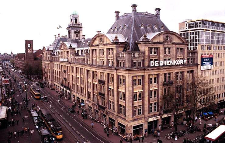 Image result for De Bijenkorf Amsterdam