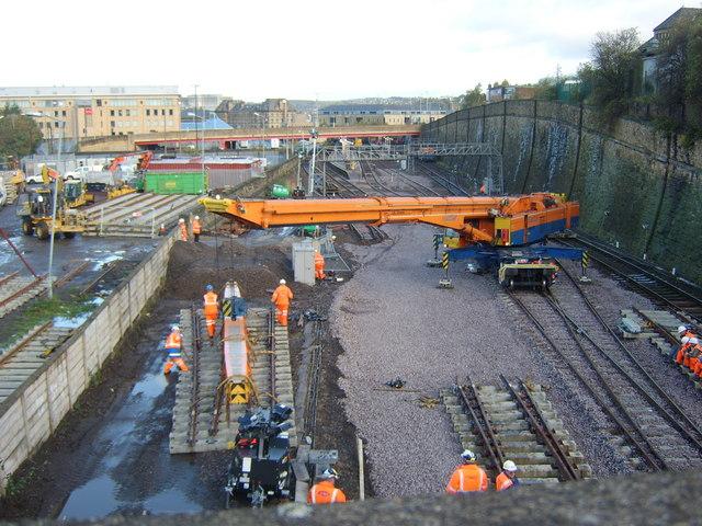 Bradford interchange rail station