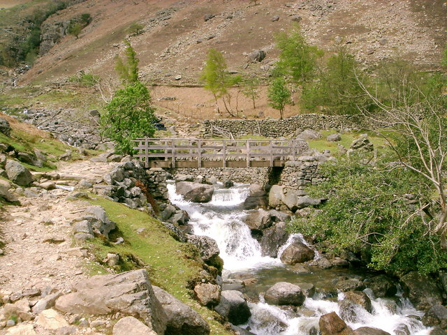 Bridge Over Stickle Ghyll - geograph.org.uk - 425186