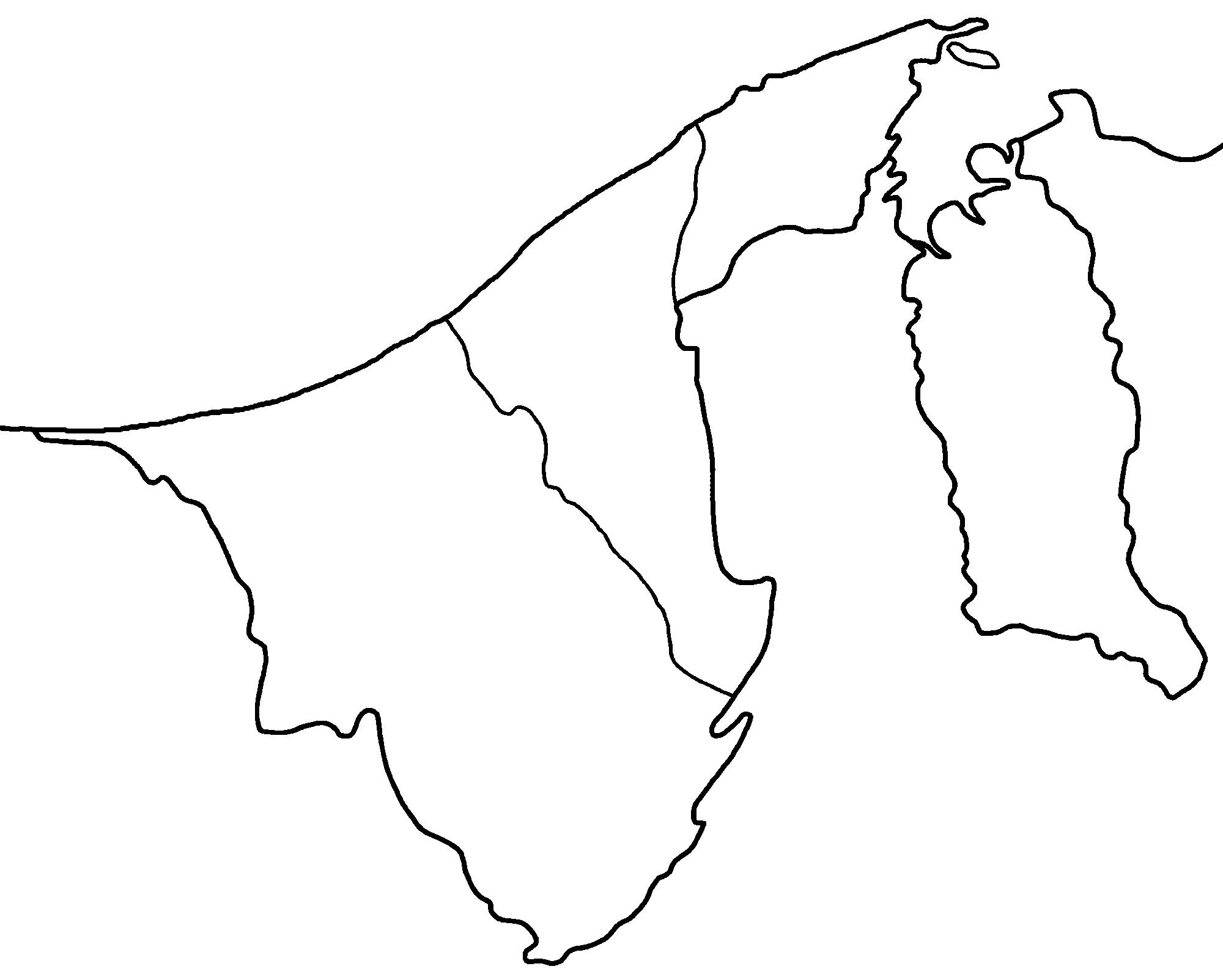 FileBrunei Districts Blankpng Wikimedia Commons - Brunei map
