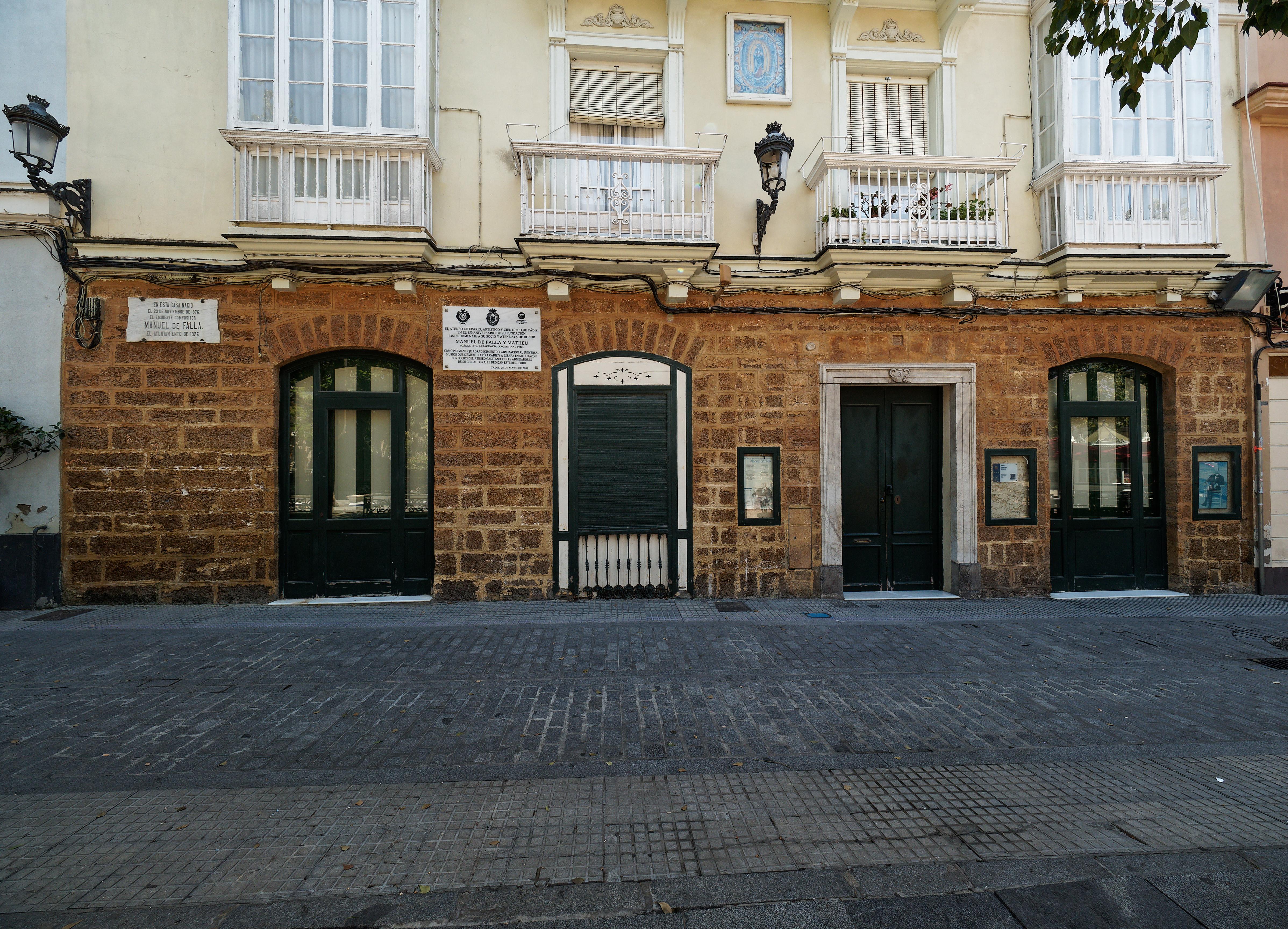 Birth house in Cádiz