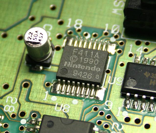 Super Nintendo. Modificación CIC y 50/60 Hz sin interruptores. CIC_F411A_01