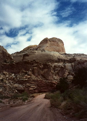 Domes at Capitol Reef