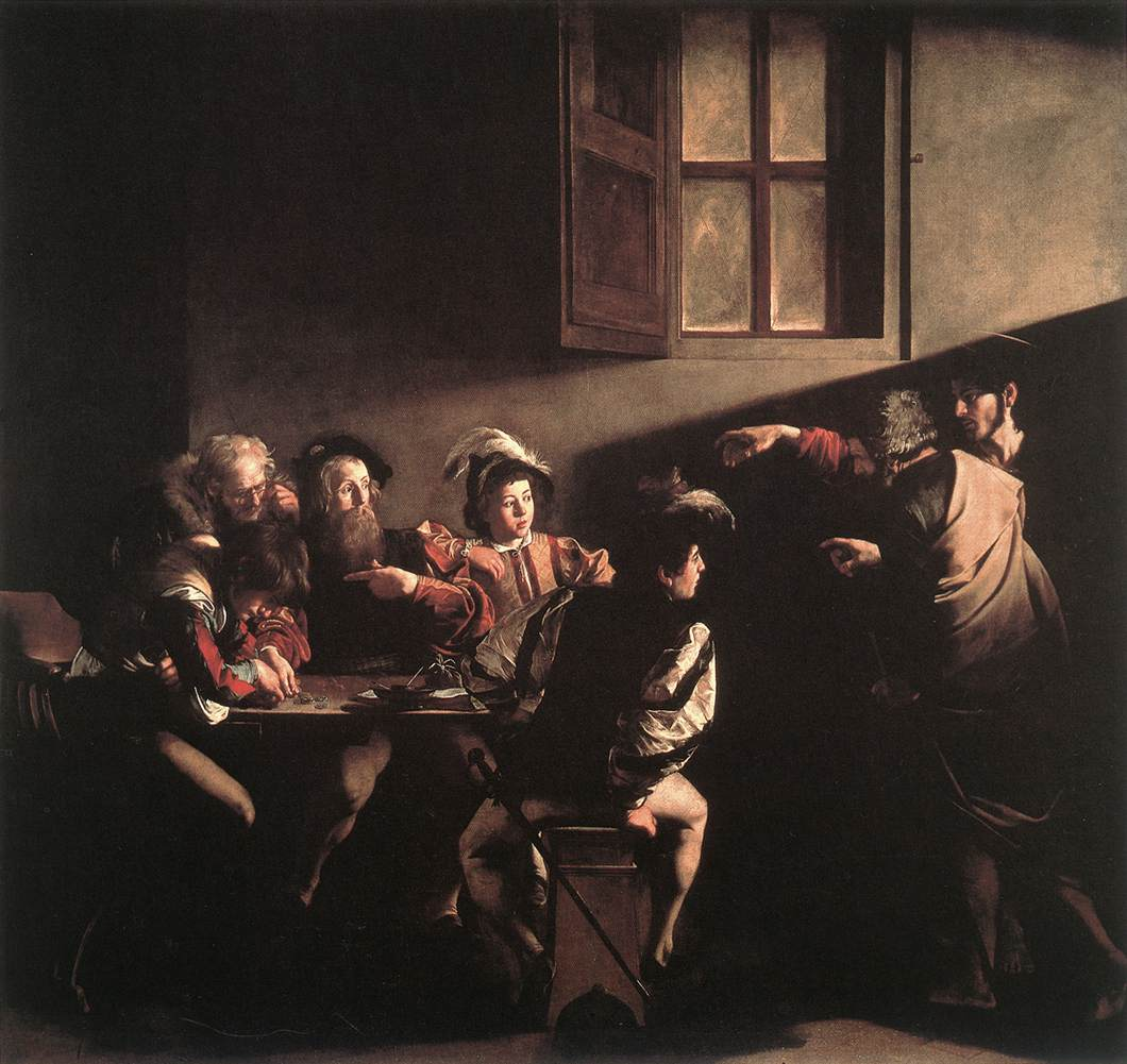"Althouse: ""The Calling of St. Matthew"" — the Caravaggio ..."