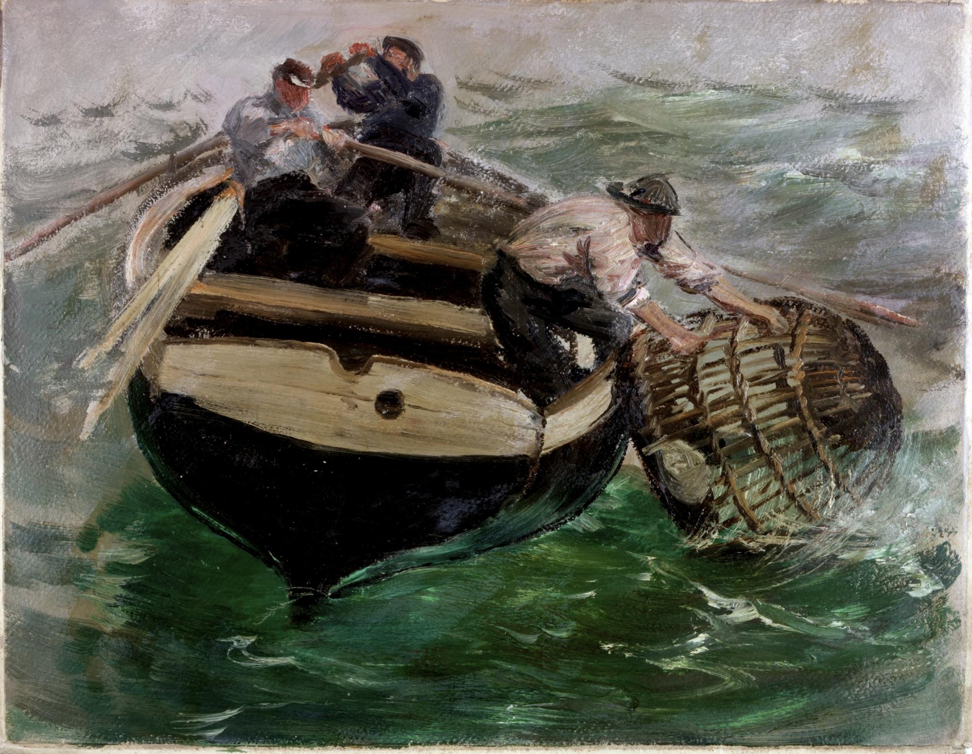 Paintings Of Fishermen S Wharfs
