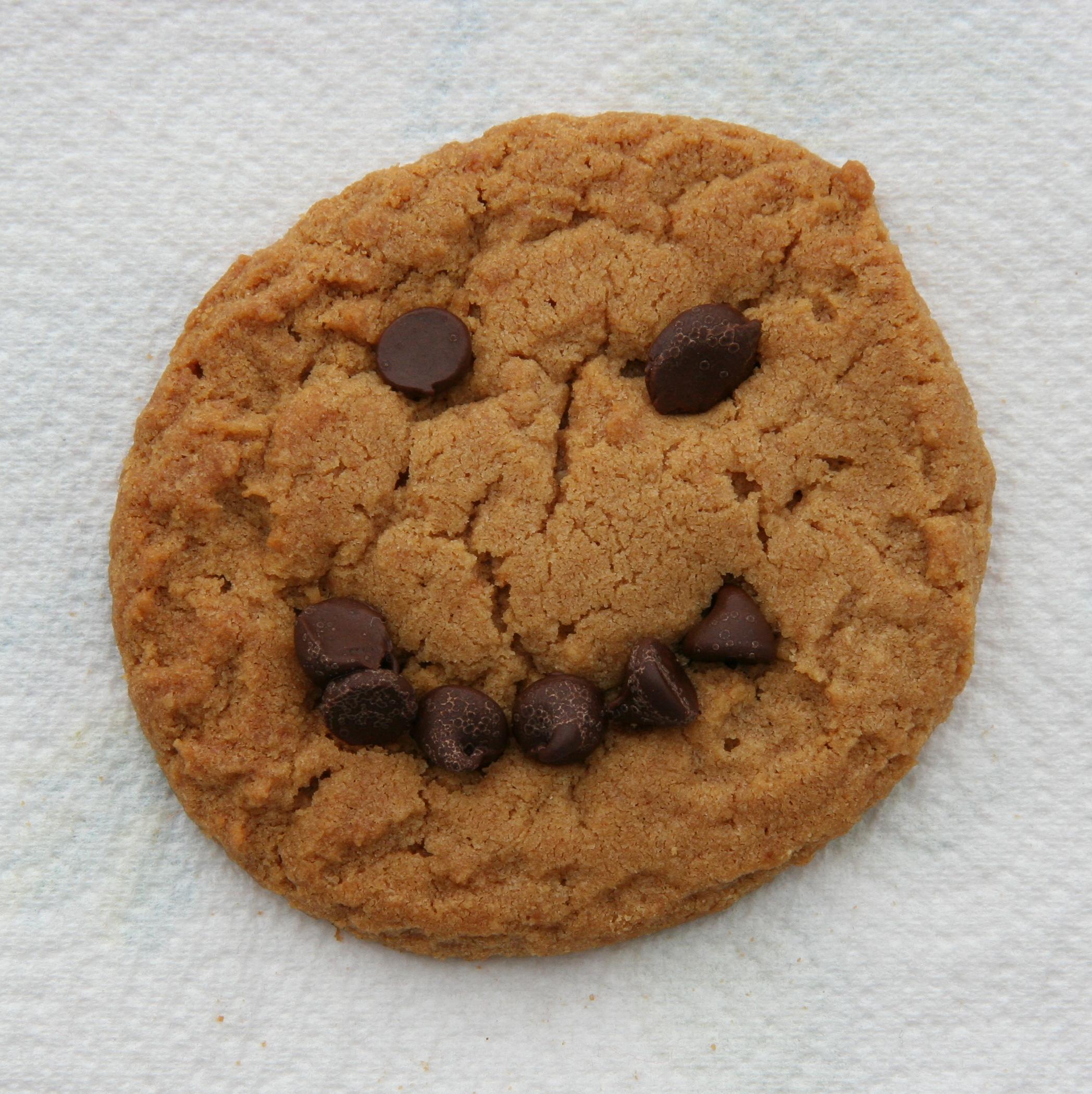 facebook+ peanut butter cookies= success