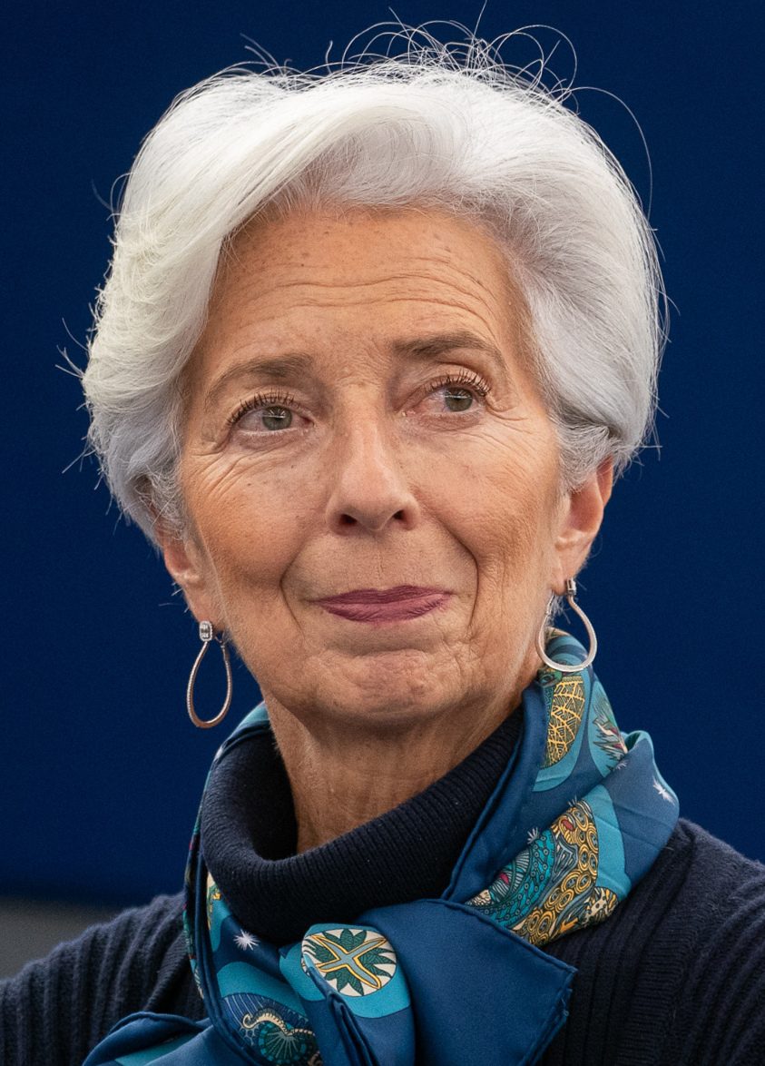 The 65-year old daughter of father Robert Lallouette and mother Nicole Christine Lagarde in 2021 photo. Christine Lagarde earned a  million dollar salary - leaving the net worth at 4 million in 2021