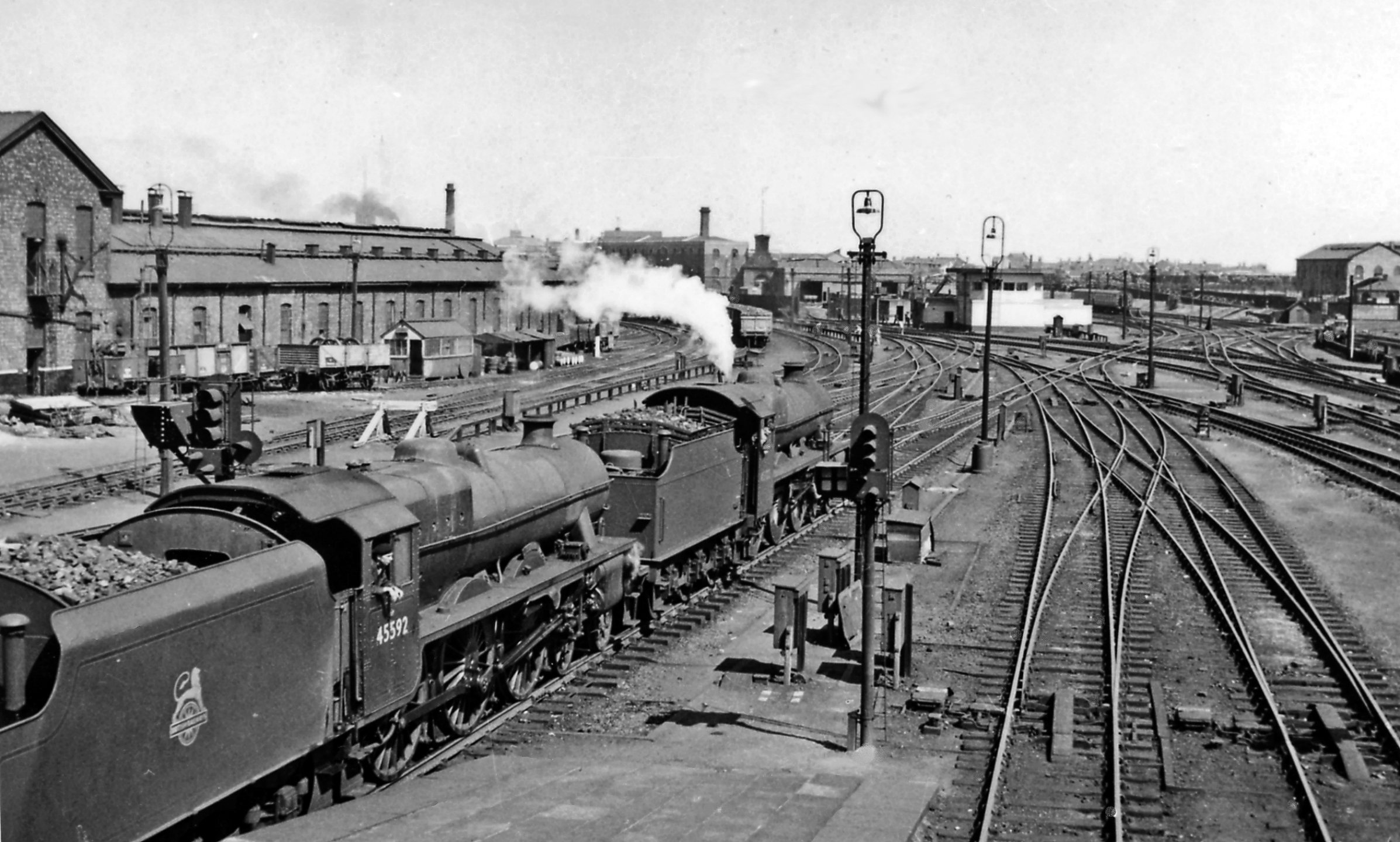 File Crewe North Junction With Two Stanier Jubilees On