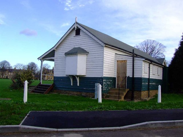 Cricket Pavilion Shoebury Garrison. It is a listed building. Cricket was first played here in 1866.