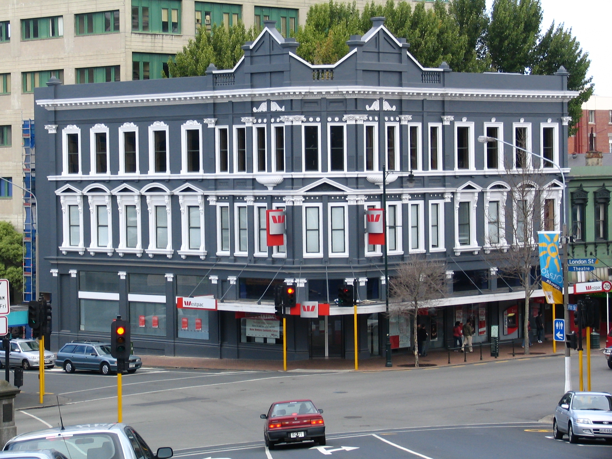 file crown clothing company building former dunedin