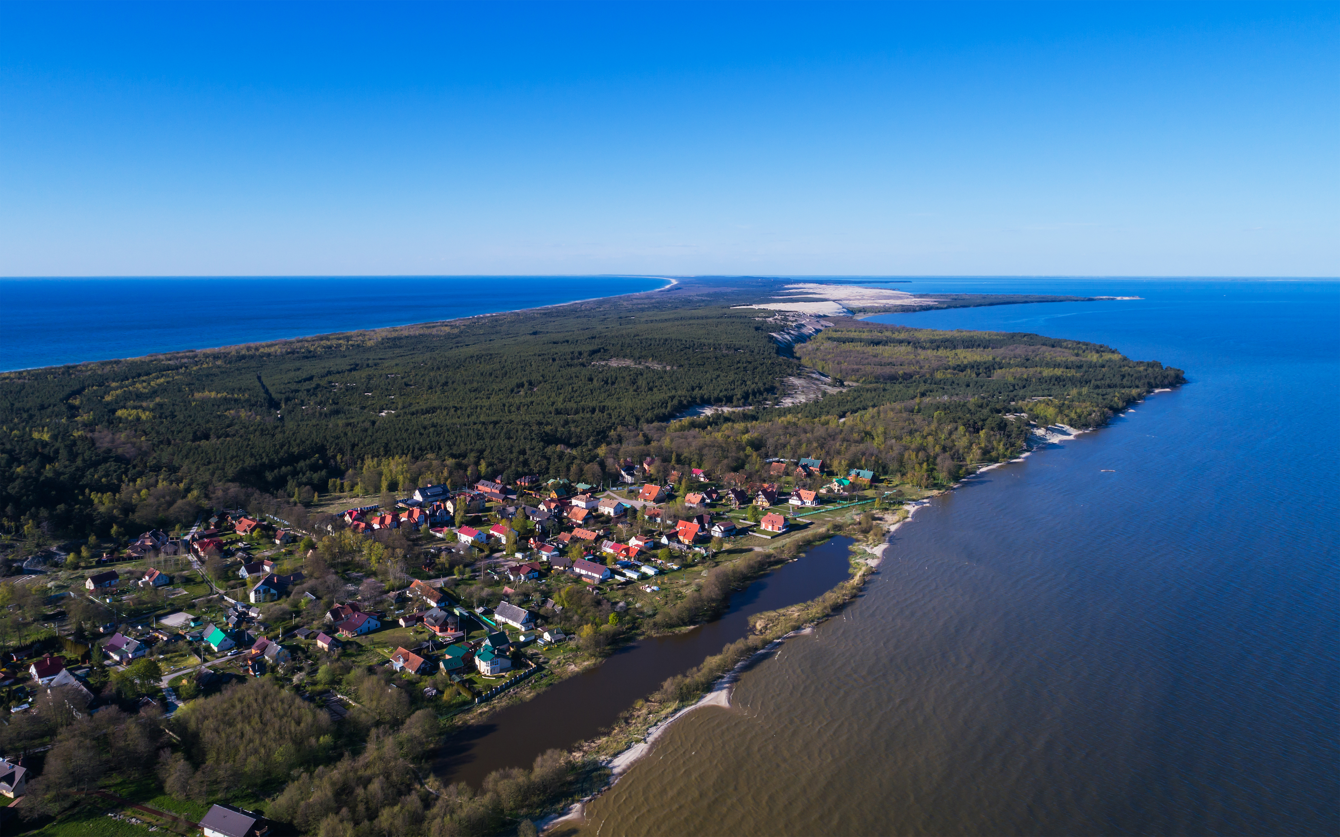 How to get from Kaliningrad to the Curonian Spit The option of car rental does not offer