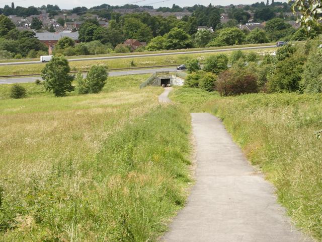 Cycleway to Baptist Lane Ossett - geograph.org.uk - 865982