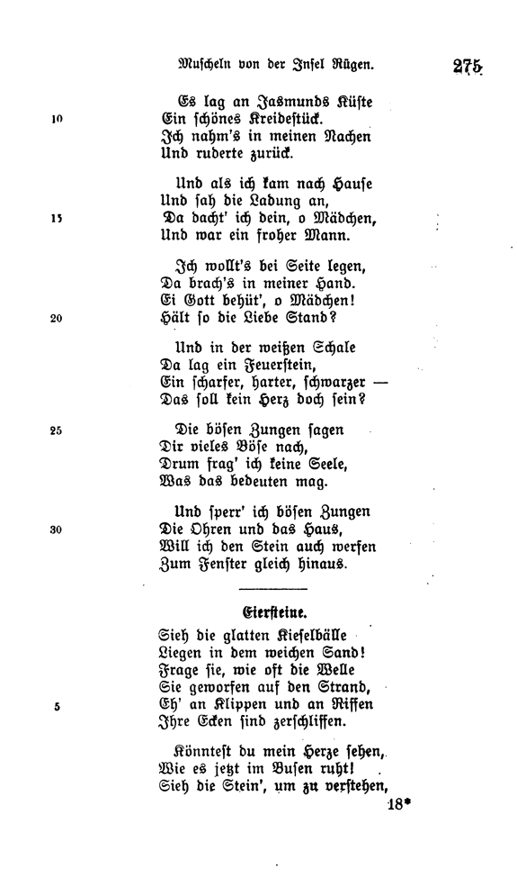 Ein schönes gedicht zum 18
