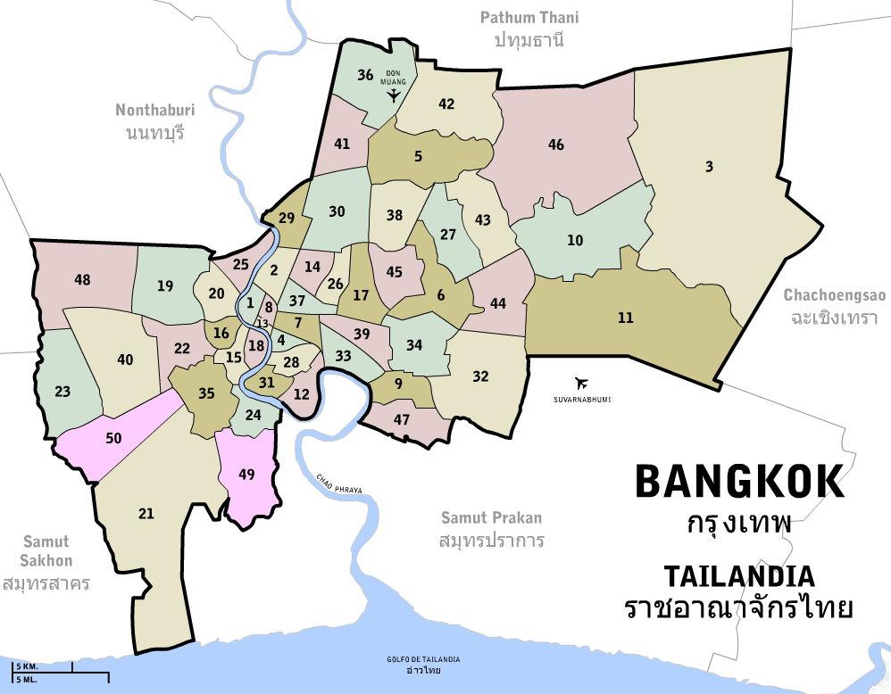 File Distritos De Bangkok Jpg Wikimedia Commons