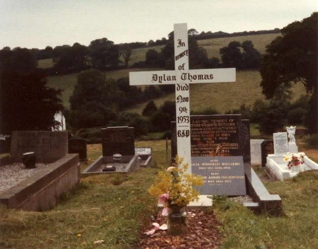 Dylan Thomas Gravesite - geograph.org.uk - 666297