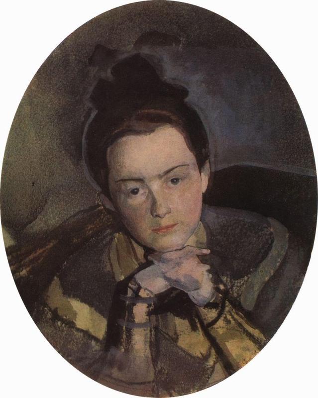E.P. Ostroumova-Lebedeva by K. Somov (1904).jpg
