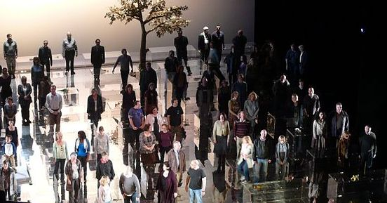 Messiah staged at the English National Opera, 2009