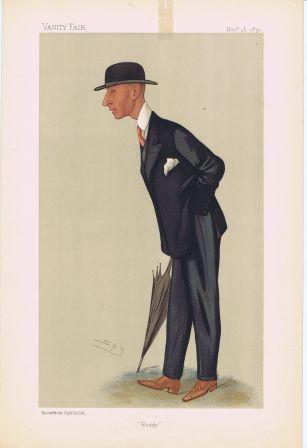 Caricature of Captain Edward Rodney Owen. Capt...