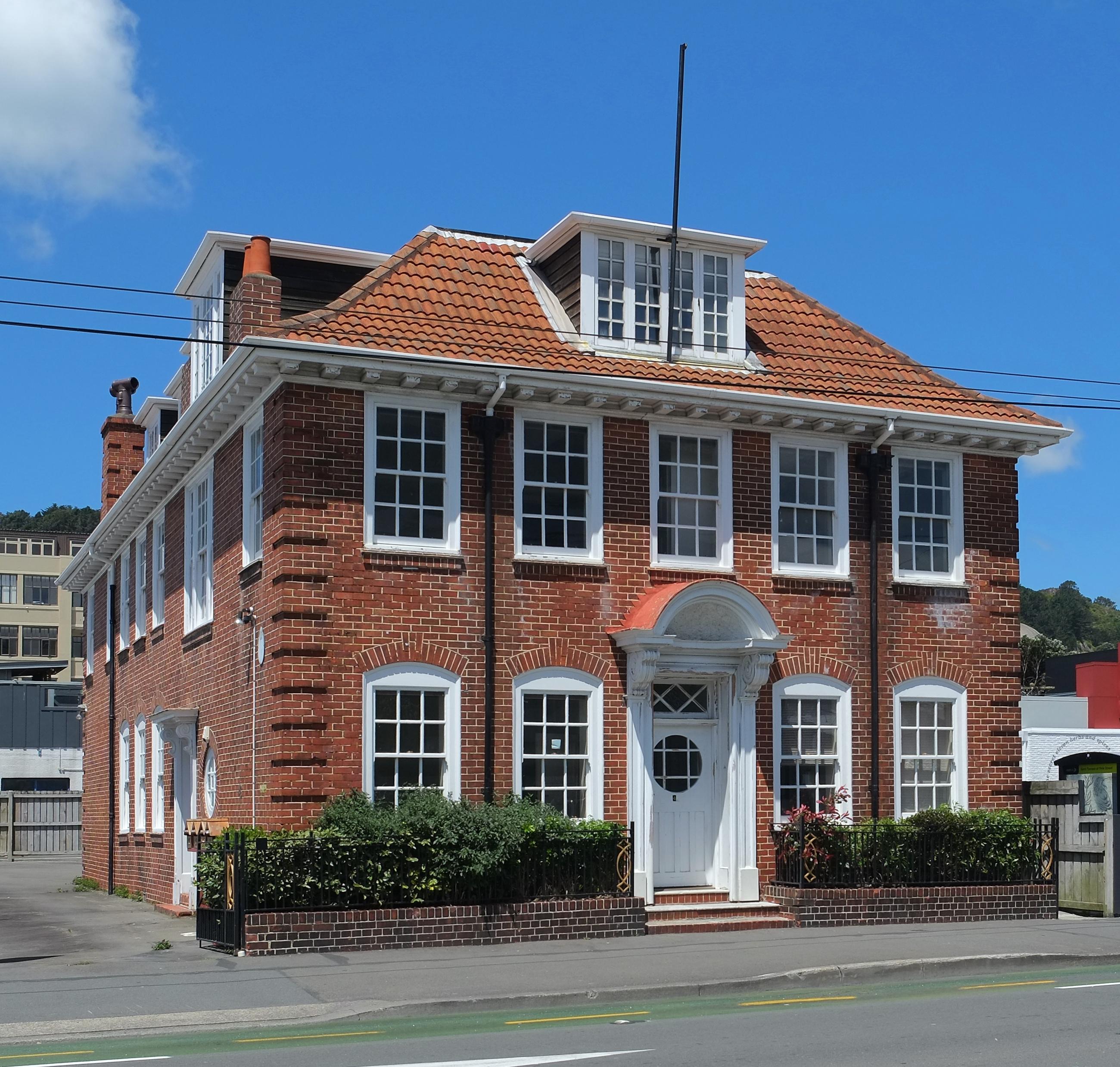 File elliott house on kent terrace wikipedia for 1 the terrace wellington