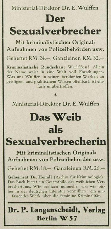Sexualverbrecher