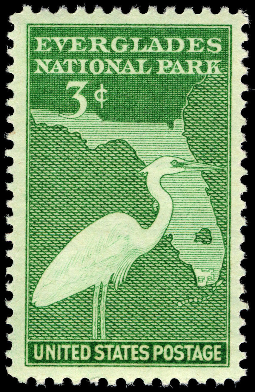 File Everglades National Park 3c 1947 Issue U S Stamp Jpg Wikimedia Commons