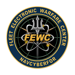Logo for Fleet Electronic Warfare Center with ...