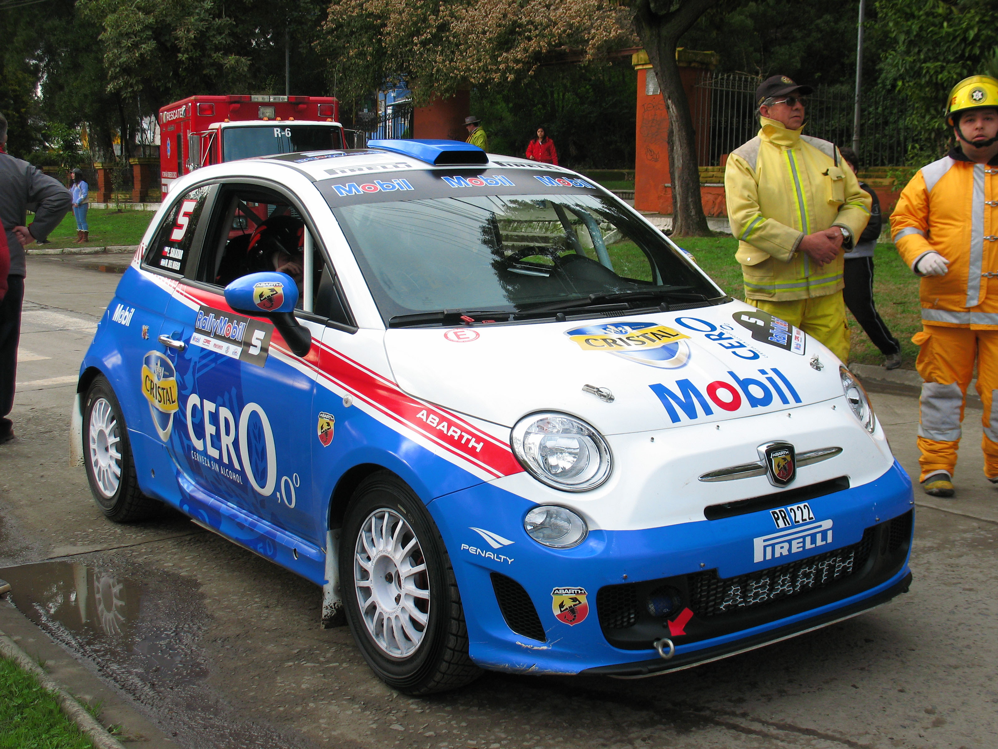 Fiat 500 Type 312 Abarth R3T - Racing Cars