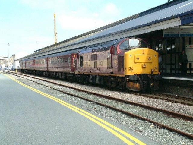 V Swansea Fishguard Harbour rail...
