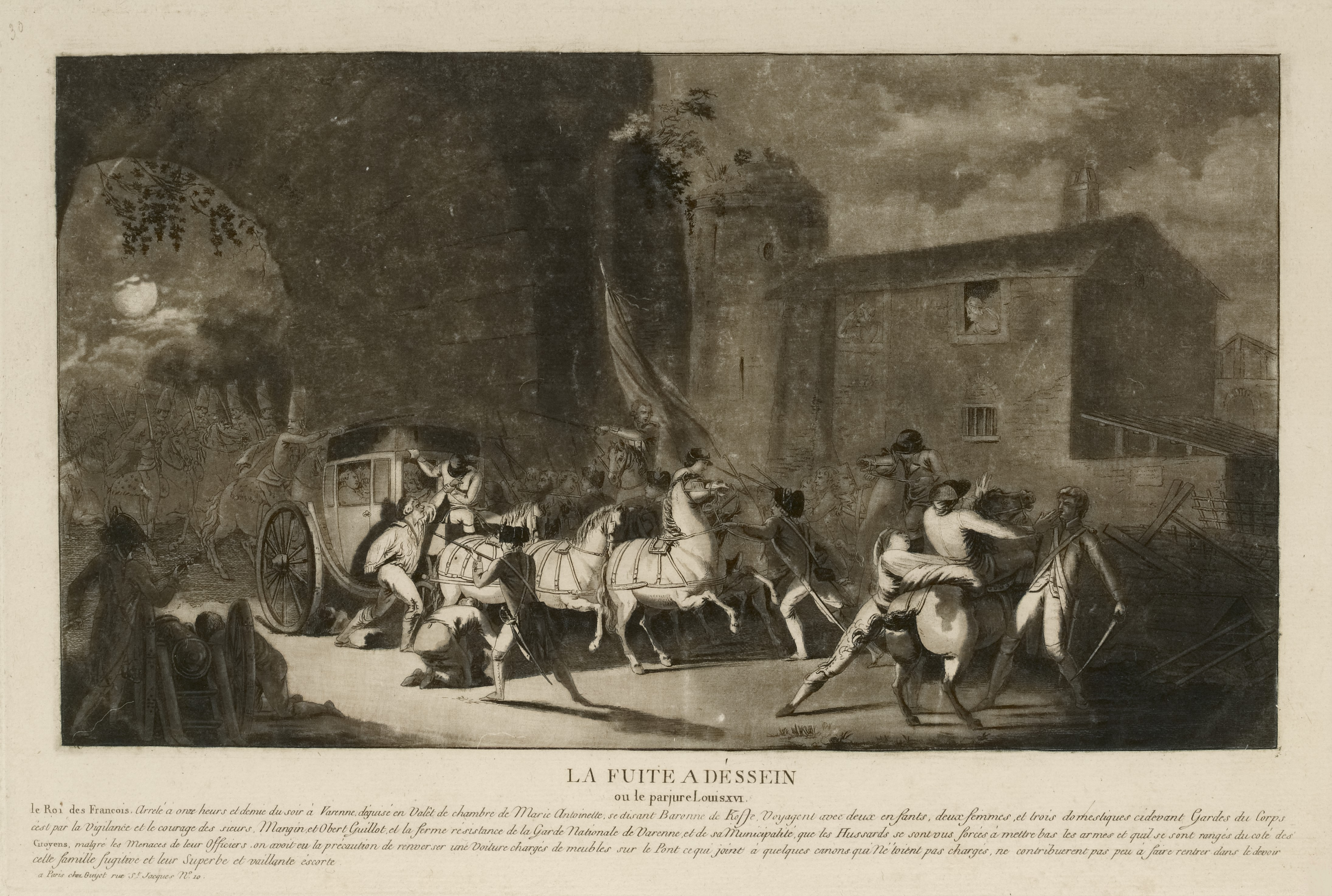 The Flight to Varennes of King Louis XVI of France