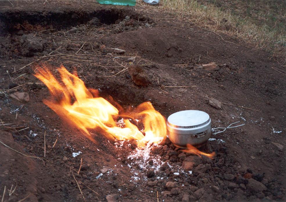 focurile de emblemă de foc de ardere falls