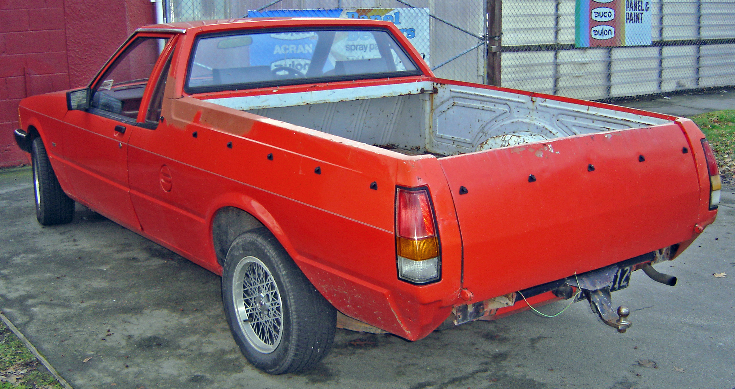 Build A Ford >> File:Ford Falcon XD 1982 Ute Back.JPG - Wikimedia Commons