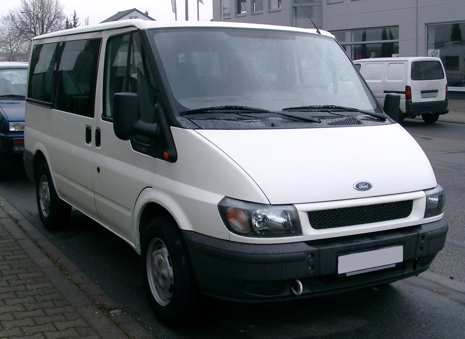 Fileford Transit Front  Jpg