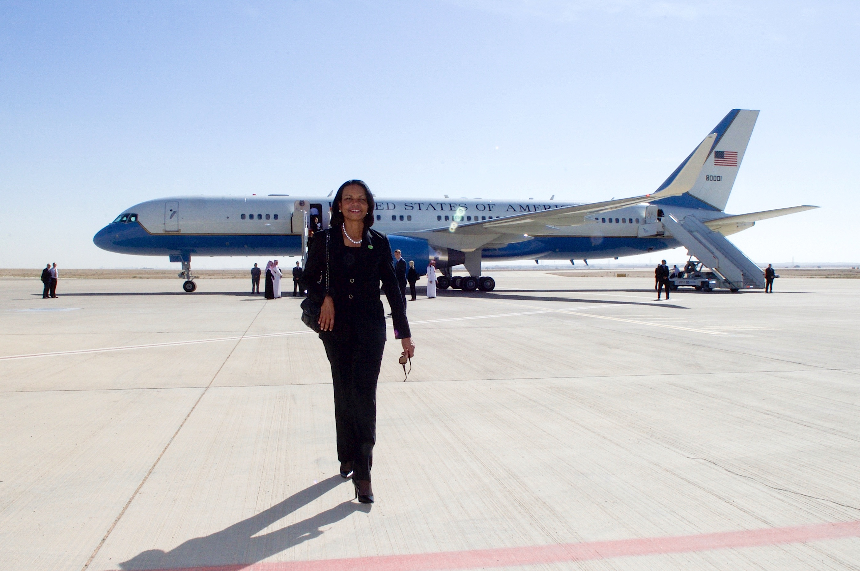 file former secretary of state condoleezza rice arrives at
