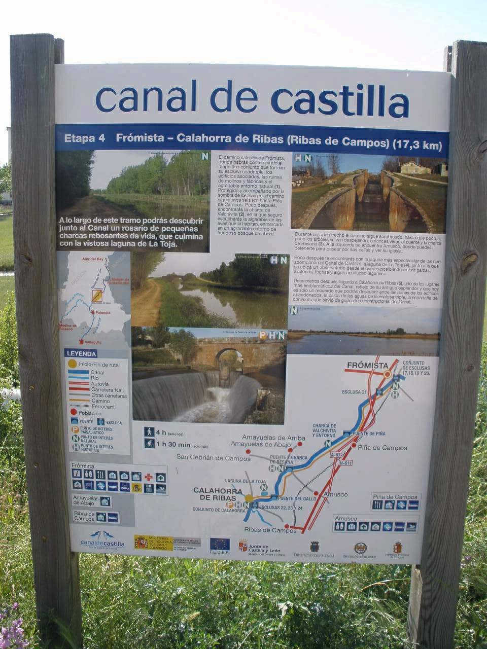 Obras hidráulicas - Canal de Castilla