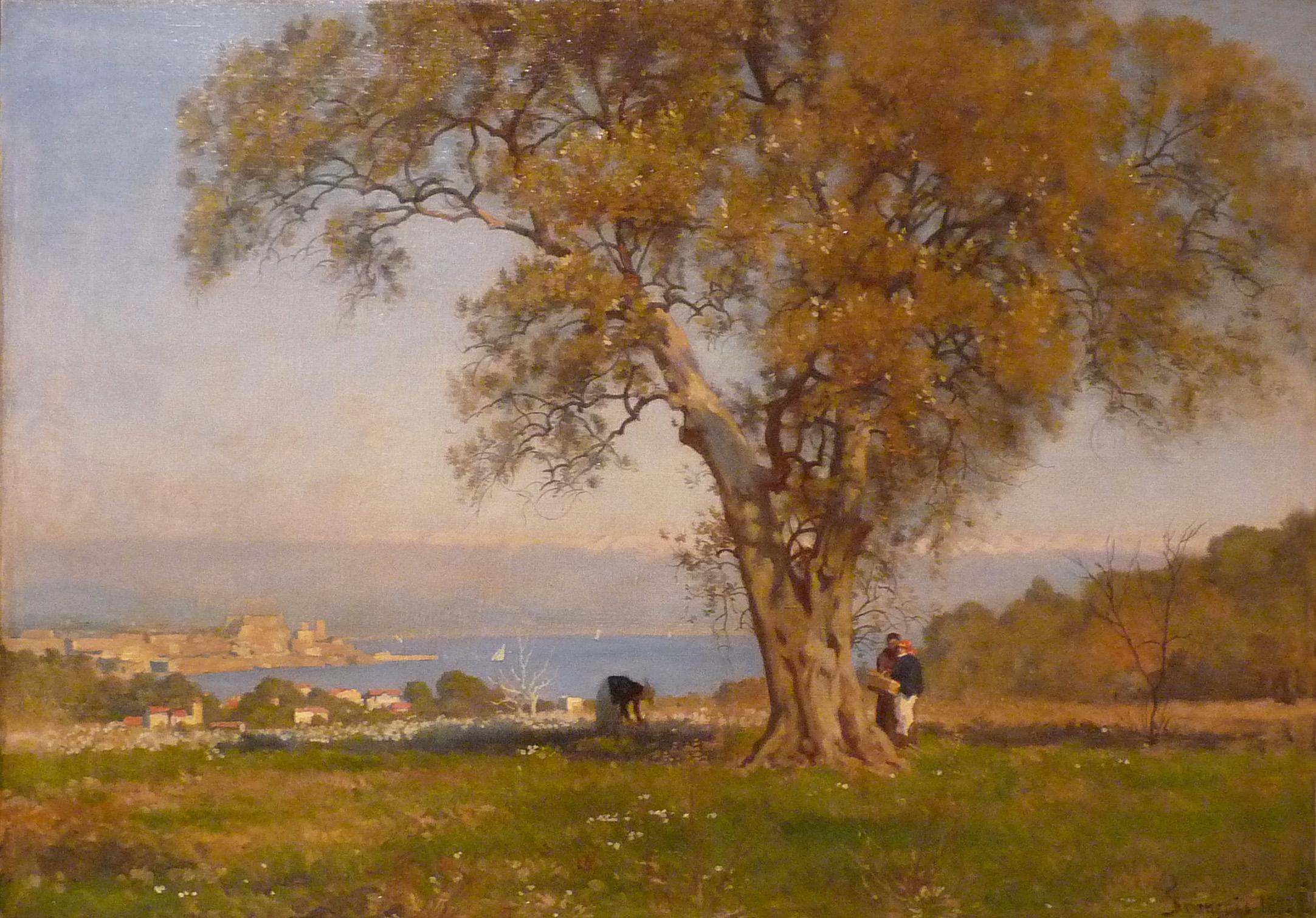 File:François-Louis Français-Vue d\'Antibes.jpg - Wikimedia Commons