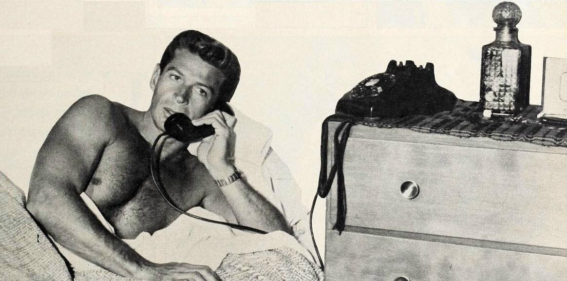 George Nader 1960 - Quelle: WikiCommons, Details Artikelende