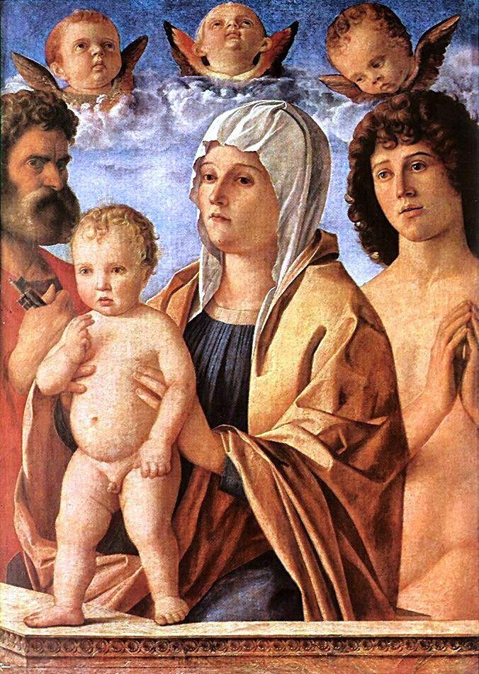 madonna and child bellini vs