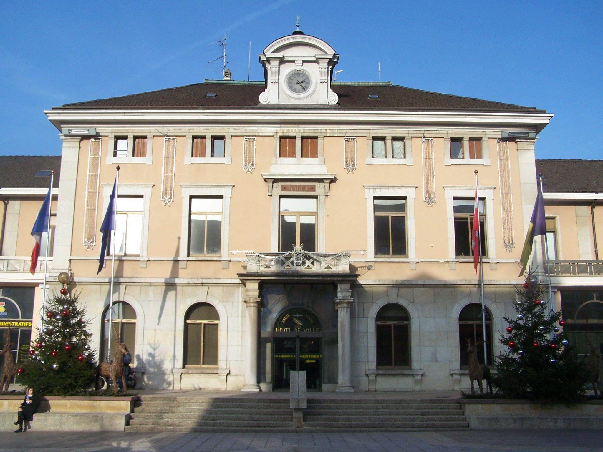 Annemasse France  City pictures : Hôtel de ville Annemasse Wikimedia Commons